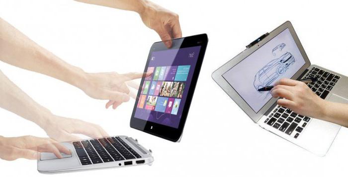 Веянье моды – ноутбуки-трансформеры
