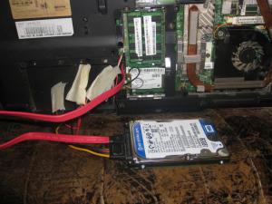 Как подключить жесткий диск от ноутбука к компьютеру